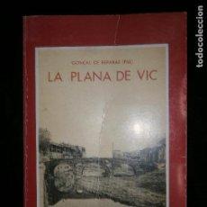 Libros antiguos: F1 LA PLANA DE VIC GONÇAL DE RAPARES HIJO ILUSTRADO EN CATALAN. Lote 120189447