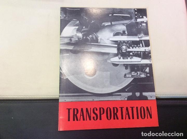 TRANSPORTATION (Libros Antiguos, Raros y Curiosos - Ciencias, Manuales y Oficios - Otros)