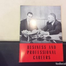 Libros antiguos: BUSINESS AND PROFESSIONAL CAREERS. Lote 120242135