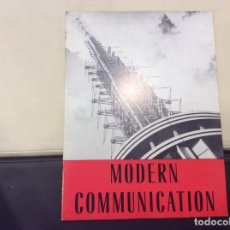 Libros antiguos: MODERN COMMUNICATION. Lote 120243855