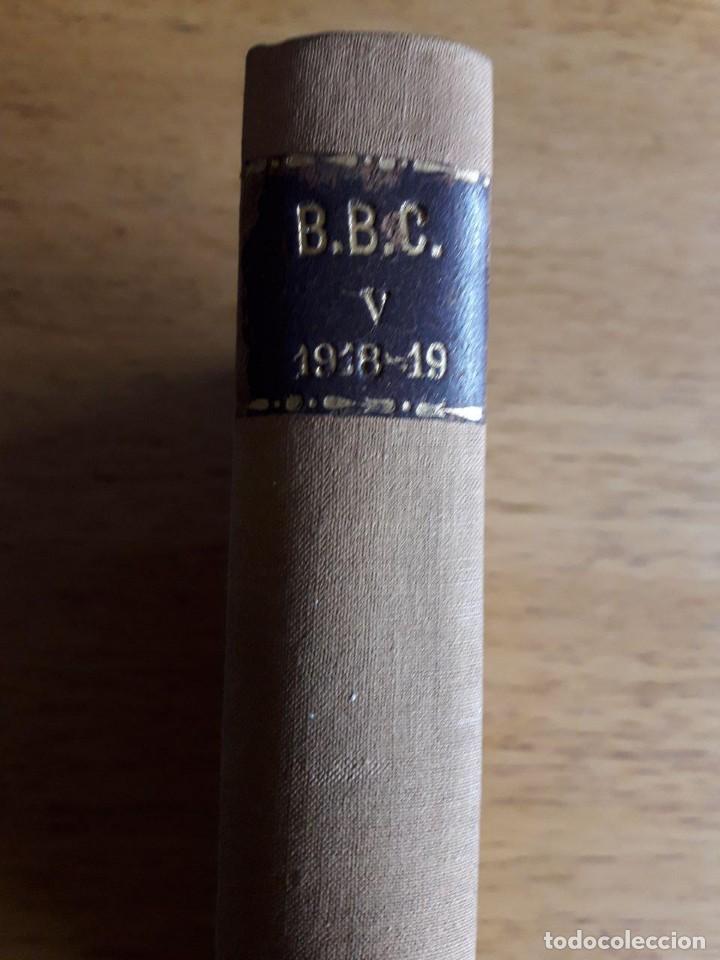 Libros antiguos: BUTLLETÍ DE LA BIBLIOTECA DE CATALUNYA / VOLUM CINQUÈ 1918 -19 / EDIT. INST. D'ESTUDIS CATALANS / 19 - Foto 2 - 120348595