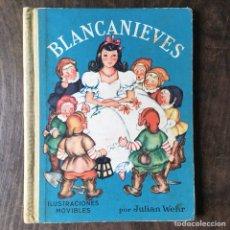 Alte Bücher - Cuento animado de Blancanieves con ilustraciones movibles - 120401508
