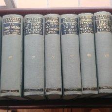 Libros antiguos: HISTORIA UNIVERSAL SALVAT 1934 10 TOMOS COMPLETA. Lote 120404808