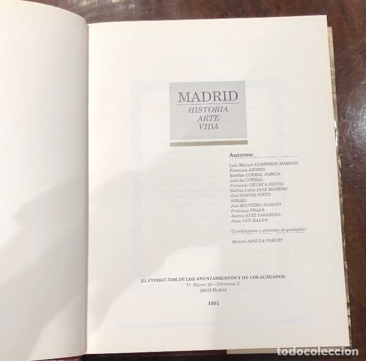 Libros antiguos: Madrid. Historia. Arte. Vida (32€) - Foto 3 - 120459303