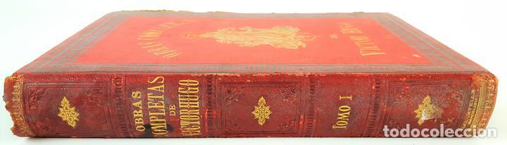 OBRAS COMPLETAS DE VICTOR HUGO. TOMO I. JACINTO LABAILA. 1886. (Libros antiguos (hasta 1936), raros y curiosos - Literatura - Narrativa - Otros)