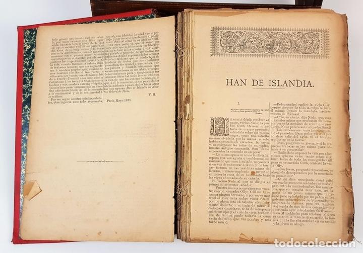 Libros antiguos: OBRAS COMPLETAS DE VICTOR HUGO. TOMO I. JACINTO LABAILA. 1886. - Foto 4 - 120528183
