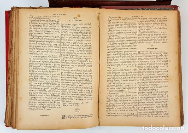 Libros antiguos: OBRAS COMPLETAS DE VICTOR HUGO. TOMO I. JACINTO LABAILA. 1886. - Foto 7 - 120528183