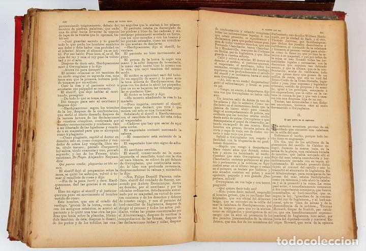 Libros antiguos: OBRAS COMPLETAS DE VICTOR HUGO. TOMO I. JACINTO LABAILA. 1886. - Foto 8 - 120528183