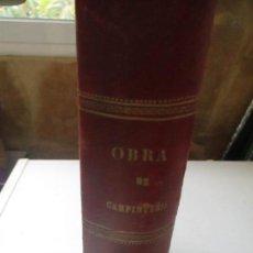 Libros antiguos: RECVEIL DE MENVISERIE PRATIQVE, THEZARD, EDITEUR, DOURDAN - S/F- OBRAS DE CARPINTERÍA. Lote 120646223