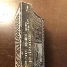 Libros antiguos: EXAMEN DE INGENIOS PARA LAS CIENCIAS(19€). Lote 120757223