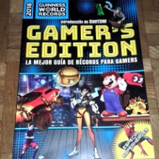 Libros antiguos: LIBRO 2018 GUINNESS WOLD RECORDS GAMER'S EDITION - GUIA RECORDS GAMERS VIDEOJUEGOS - PLANETA. Lote 120837215