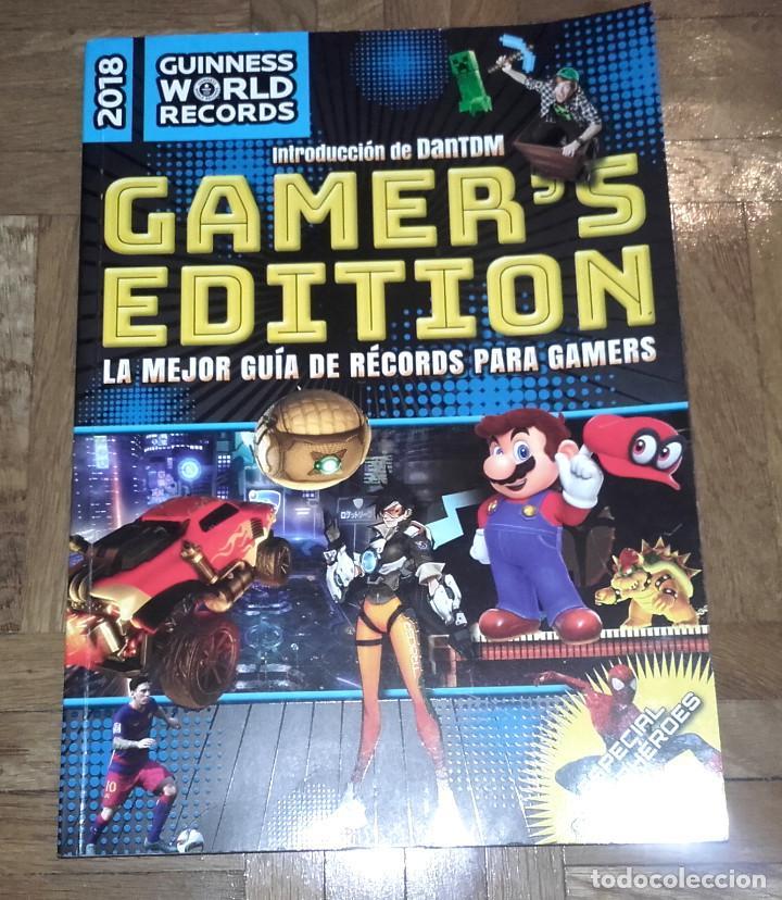 Libros antiguos: LIBRO 2018 GUINNESS WOLD RECORDS GAMERS EDITION - GUIA RECORDS GAMERS VIDEOJUEGOS - PLANETA - Foto 2 - 120837215