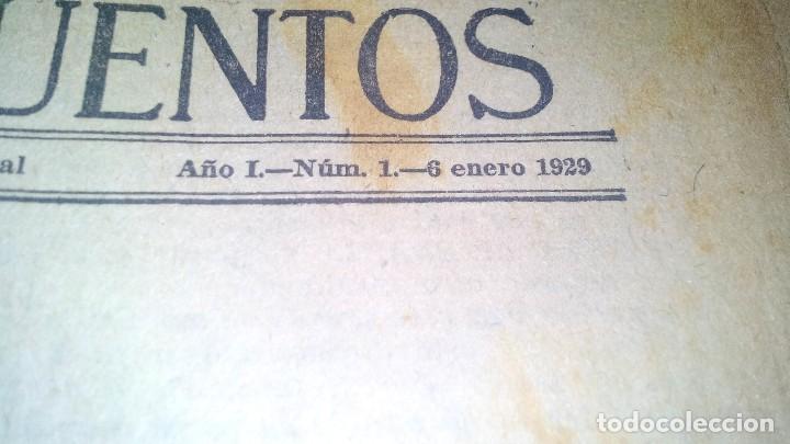 Libros antiguos: revista literaria novelas y cuentos-Año 1, número 1 de 1929 y varios números mas-ver fotos - Foto 5 - 120868615