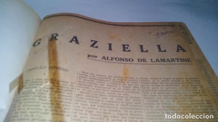 Libros antiguos: revista literaria novelas y cuentos-Año 1, número 1 de 1929 y varios números mas-ver fotos - Foto 6 - 120868615