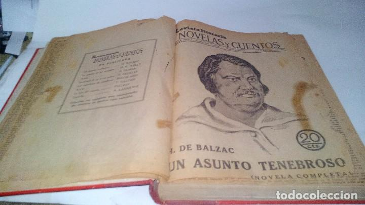 Libros antiguos: revista literaria novelas y cuentos-Año 1, número 1 de 1929 y varios números mas-ver fotos - Foto 7 - 120868615