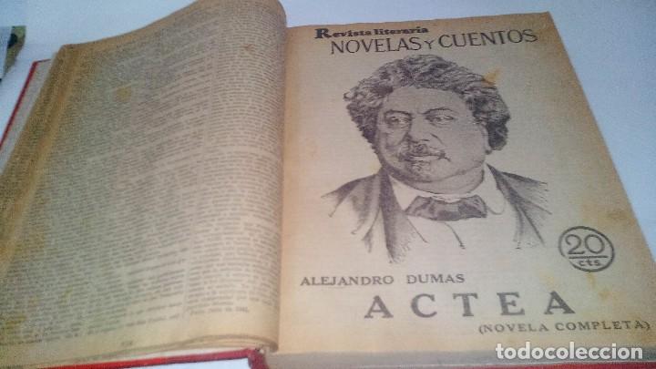 Libros antiguos: revista literaria novelas y cuentos-Año 1, número 1 de 1929 y varios números mas-ver fotos - Foto 9 - 120868615