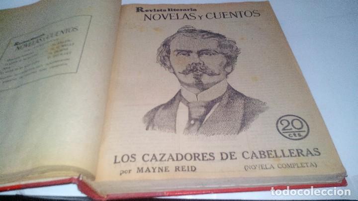 Libros antiguos: revista literaria novelas y cuentos-Año 1, número 1 de 1929 y varios números mas-ver fotos - Foto 12 - 120868615