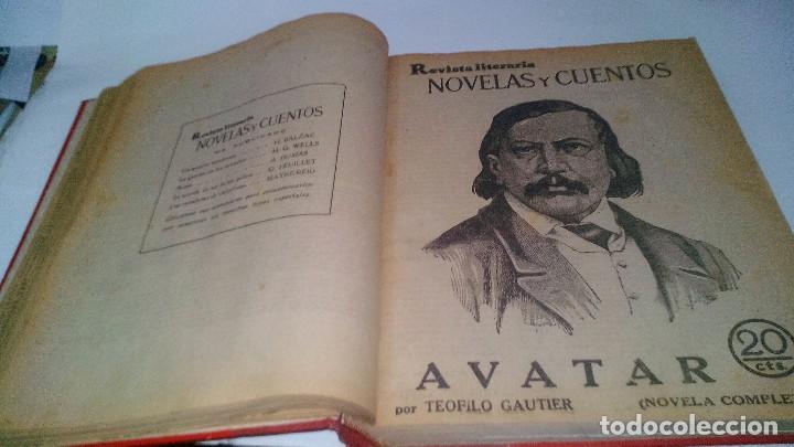 Libros antiguos: revista literaria novelas y cuentos-Año 1, número 1 de 1929 y varios números mas-ver fotos - Foto 14 - 120868615
