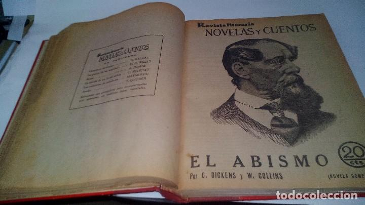 Libros antiguos: revista literaria novelas y cuentos-Año 1, número 1 de 1929 y varios números mas-ver fotos - Foto 17 - 120868615