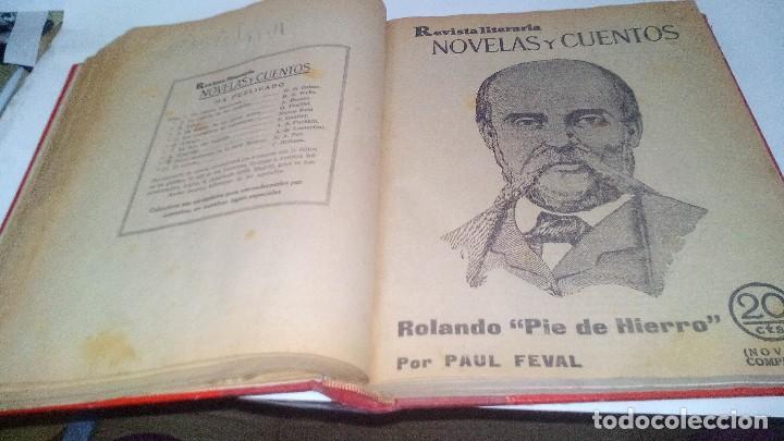 Libros antiguos: revista literaria novelas y cuentos-Año 1, número 1 de 1929 y varios números mas-ver fotos - Foto 19 - 120868615