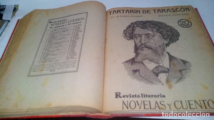 Libros antiguos: revista literaria novelas y cuentos-Año 1, número 1 de 1929 y varios números mas-ver fotos - Foto 24 - 120868615