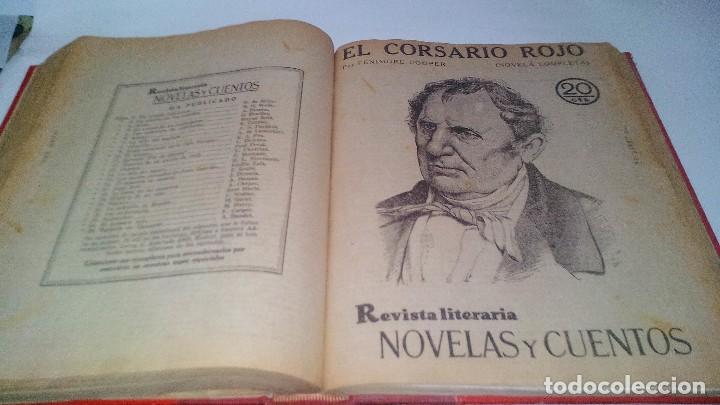 Libros antiguos: revista literaria novelas y cuentos-Año 1, número 1 de 1929 y varios números mas-ver fotos - Foto 26 - 120868615