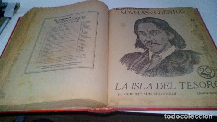 Libros antiguos: revista literaria novelas y cuentos-Año 1, número 1 de 1929 y varios números mas-ver fotos - Foto 28 - 120868615