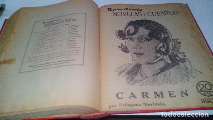 Libros antiguos: revista literaria novelas y cuentos-Año 1, número 1 de 1929 y varios números mas-ver fotos - Foto 29 - 120868615
