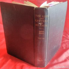 Libros antiguos: THE LIFE AND LETTERS OF ST. PAUL, 1932. Lote 120906199