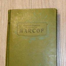 Libros antiguos: MARCOF (TOMO 1) ERNESTO CAPENDU 1911. Lote 120931451