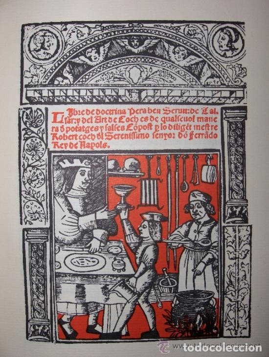 Libros antiguos: LIBRO-LLIBRE DE COCH,AÑO1520,PRIMER LIBRO DE COCINA EN CATALAN,FACSIMIL SOLO 500 LIBROS,GASTRONOMIA - Foto 10 - 120961435