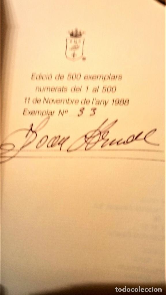 Libros antiguos: LIBRO-LLIBRE DE COCH,AÑO1520,PRIMER LIBRO DE COCINA EN CATALAN,FACSIMIL SOLO 500 LIBROS,GASTRONOMIA - Foto 5 - 120961435