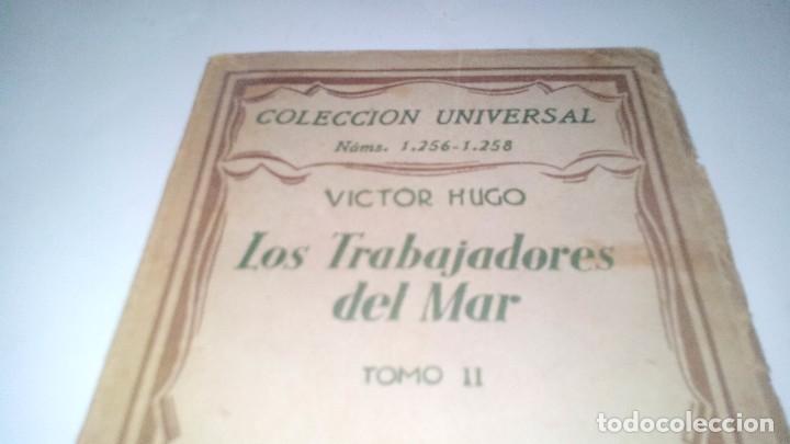Libros antiguos: LOS TRABAJADORES DEL MAR-VICTOR HUGO-TOMO II-ESPASA CALPE-1932 - Foto 3 - 120994759