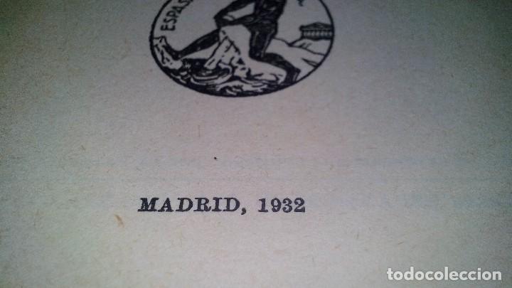 Libros antiguos: LOS TRABAJADORES DEL MAR-VICTOR HUGO-TOMO II-ESPASA CALPE-1932 - Foto 10 - 120994759