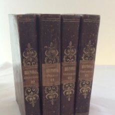 Libros antiguos: HISTORIA UNIVERSAL. 4 TOMOS (10 11 12 Y 13). CÉSAR CANTÚ. 1847. Lote 121049235