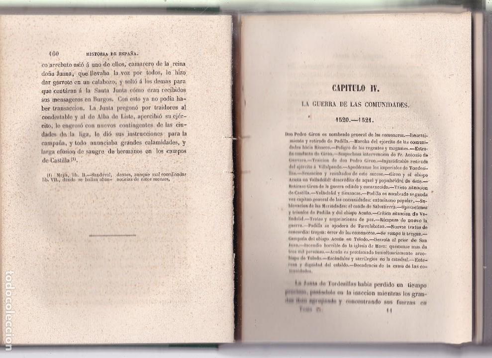 Libros antiguos: HISTORIA GENERAL DE ESPAÑA - MODESTO LAFUENTE - TOMO XI / MADRID 1853 - Foto 3 - 121051119