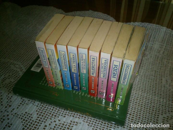 LOTE DE 9 MINI LIBROS DE LA COLECCION MINI CLASICOS (Libros Antiguos, Raros y Curiosos - Literatura Infantil y Juvenil - Otros)
