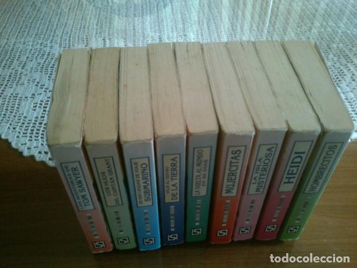 Libros antiguos: LOTE DE 9 MINI LIBROS DE LA COLECCION MINI CLASICOS - Foto 2 - 121060527
