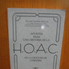 Libros antiguos: DIOCESIS DE CÓRDOBA. H. O. A. C. Lote 121073623