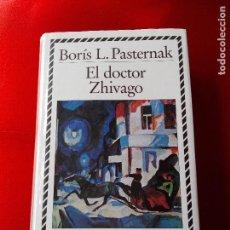 Libros antiguos: LIBRO-DOCTOR ZHIVAGO-BORIS L.PASTERNAK-C.LECTORES-BIBLIOTECA DE PLATA-BUEN ESTADO-VER FOTOS. Lote 121079771