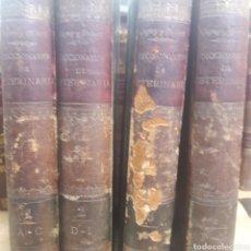 Libros antiguos: DICCIONARIO DE VETERINARIA CAGNY GOBERT COMPLETO 4 TOMOS. Lote 121110904
