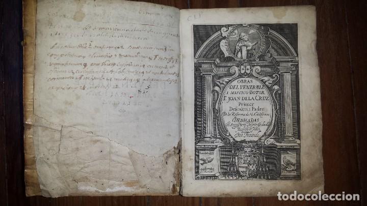 OBRAS DEL VENERABLE Y MISTICO DOCTOR JUAN (JOAN) DE LA CRUZ. 1630. ENC. PERGAMINO. (Libros antiguos (hasta 1936), raros y curiosos - Literatura - Narrativa - Otros)
