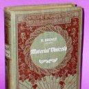 Libros antiguos: MATERIAL VINÍCOLA Y CUIDADOS DEBIDOS A LOS VINOS. (1921). Lote 121273143