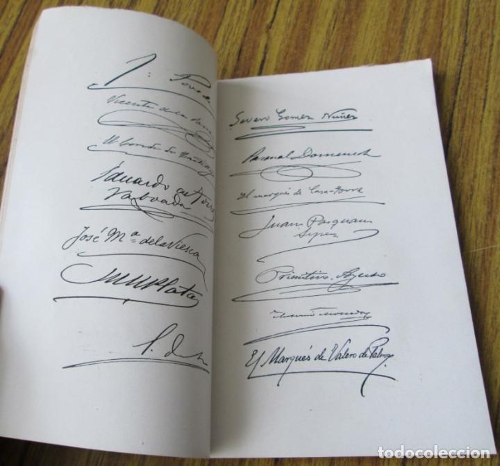 Libros antiguos: Documentos parlamentarios - Discursos pronunciados Por D. Francisco Silvela y D. Antonio Maura 1903 - Foto 6 - 121284263