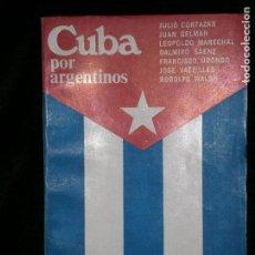 Libros antiguos: F1 CUBA POR ARGENTINOS. Lote 121325427