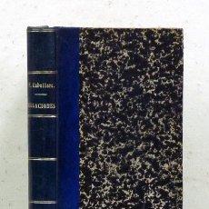 Libros antiguos: FERNÁN CABALLERO. RELACIONES. LIB. ANTONINO ROMERO, EDIT., 1907. ENC. HOLANDESA ÉPOCA, LOMO DE PIEL. Lote 121329075