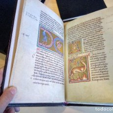 Libros antiguos: BESTIARIO DE OXFORD. MS. ASHMOLE. FACSÍMIL.. Lote 121397875