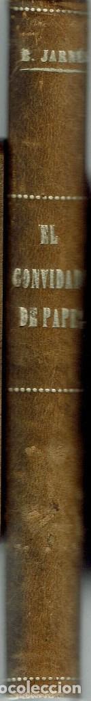 EL CONVIDADO DE PAPEL, POR BENJAMÍN JARNÉS. AÑO 1928 (1.4) (Libros antiguos (hasta 1936), raros y curiosos - Literatura - Narrativa - Otros)
