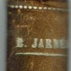 Libros antiguos: EL CONVIDADO DE PAPEL, POR BENJAMÍN JARNÉS. AÑO 1928 (6.4). Lote 121405639