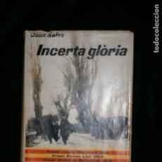 Libros antiguos: F1 INCERTA GLORIA JOAN SALES 4 EDICION . Lote 121454543